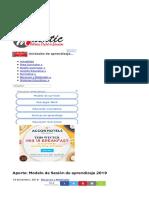 Aporte_ Modelo de Sesión de Aprendizaje 2019 _ MathTic