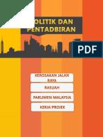 politik dan pentadbiran