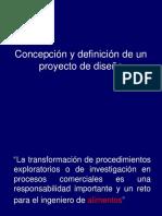 Concepción y Definición de Un Proyecto de Diseño, Clase 3