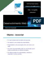Aula 01 Desenvolvimento WEB 05-03-2018