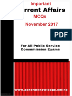 Important Current Affairs MCQs November 2017.pdf