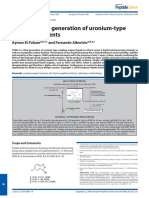 El-Faham, A., & Albericio, F. (2010). COMU. a Third Generation of Uronium-type Coupling Reagents. Journal of Peptide Science, 16(1), 6–9.