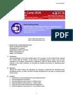 Educational Game Development Online Workshop Details