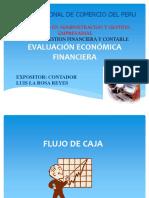 Evaluación Económica Financiera Flujo de Caja