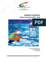 Reporte Final de La Medicion de La Filsd 2018