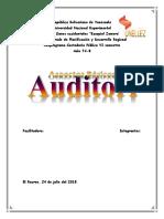 Aspectos Generales de la Auditoria Basica