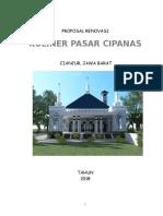 Proposal Kuliner Pasar Cipanas