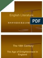 Part VI the 18th Century Literature