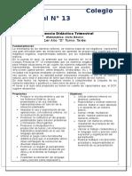 Secuencia Didáctica Trimestral-2