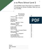 Piano School Level 2 Edited 2013 PDF