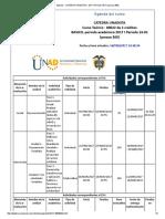 Agenda - Catedra Unadista - 2017 i Período 16-01 (Peraca 360)