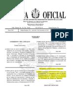 GACETA 24 DIC. Acuerdo Veracruz