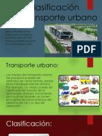 Clasificación del transporte