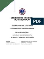 4.1. Misión y Visión de La Universidad Nacional de Chimborazo.