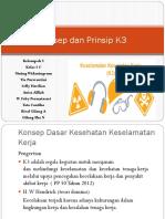 Konsep Dan Prinsip K3 Kelompok 5