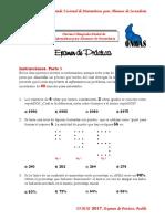 Programas de Estudio 2011. Secundaria. Matematicas