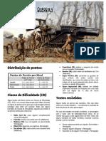 RPG Ação!!! - A Última das Guerras - Grande Guerra (1914-1918) - PERÍCIAS E TALENTOS