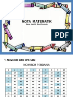 Nota Mate Printed