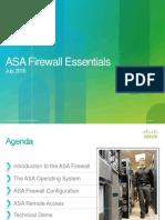 Asa Essentials Part 1