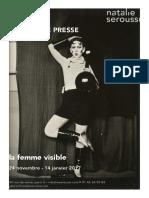 Dossier de Presse Femme Visible