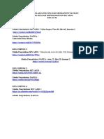 Rekapitulasi Link Media Penyuluhan HIV AIDS & NAPZA Kelas B