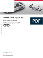 SSP 663 Audi A8 Type 4N Running Gear