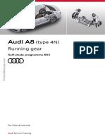 SSP 663 Audi A8 Type 4N Running Gear
