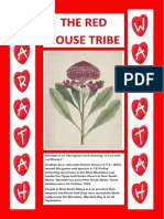 House Tribe Posters - WARATAH