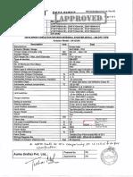 Fluidline Valves Data Sheet