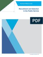 Recruitment Selection Public Service