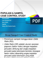 Ppt Sampel Case Control