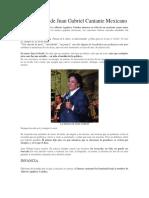 Biografía de Juan Gabriel