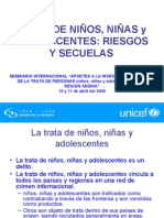 TRATA DE NIÑOS, NIÑAS y ADOLESCENTES