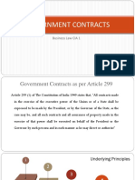 Govt Contracts