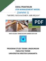 modul Praktikum SWMM (Pengelolaan Sumber Daya Air)