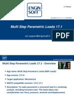External Template MultiStep Parametric Loads ACT Extension