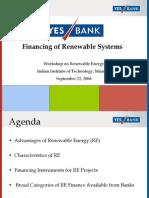 FINANCING Renewable ghosh