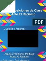 Posiciones de Clase Ante El Racismo