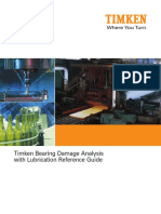 Timken Bearing Damage Analysis With Lubrication Reference Guide