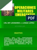 operaciones militares