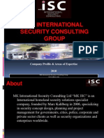 MK International Security Consulting Company Profile