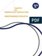 Ventilation - Group Safety Standard 30