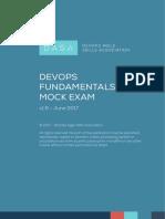 DASA DevOps Fundamentals Mock Exam 1