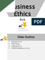 BUS3182BusinessEthics Risk