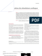 Complications Des Stimulateurs Cardiaques