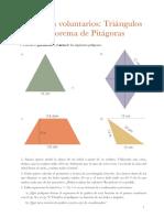 4 - Ejercicios Triángulos y Pitágoras