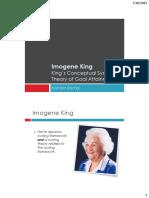 Imogene King Handout
