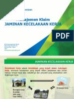 Manajemen Klaim JKK (Sosialisasi PLKK) New