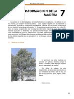Transformacion de La Madera