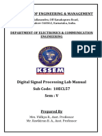 dsp lab manual as per VTU.pdf